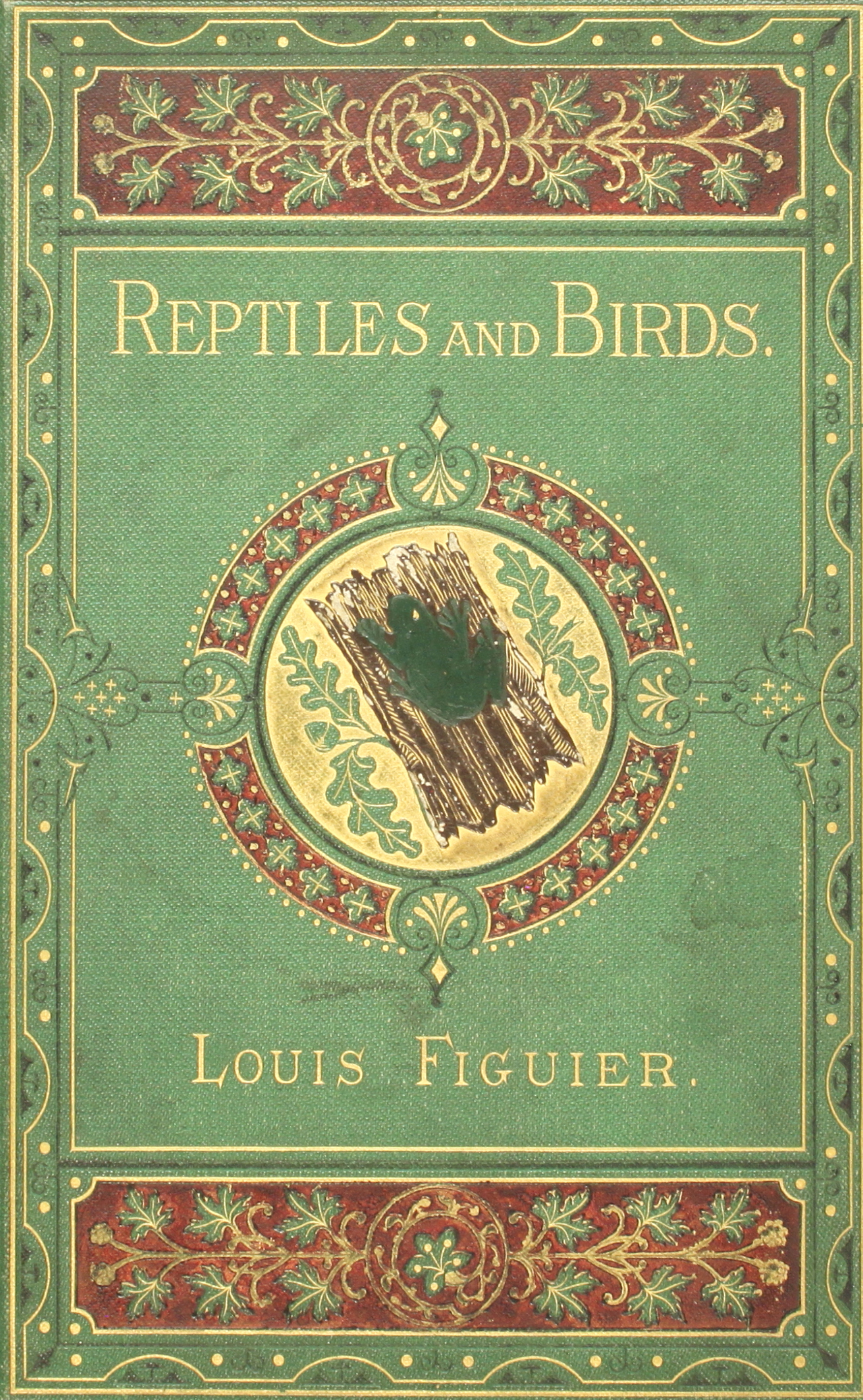 Figuier Louis Reptiles And Birds A Popular Account Of The Andrew Smith Regular 5 Pockets Abu 34 Various Orders With Description Habitats Economy Most Interesting